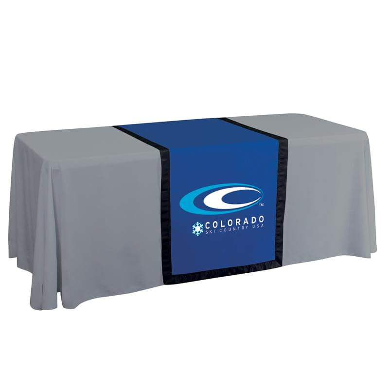 "28"" Accent Table Runner (One Imprint Location)"