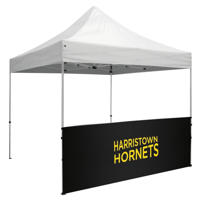 10' Half Wall for Event Tents (Full-Color Imprint)