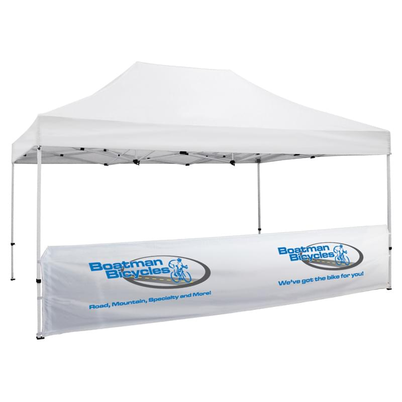 15' Half Wall for Event Tents (Full-Color Imprint)