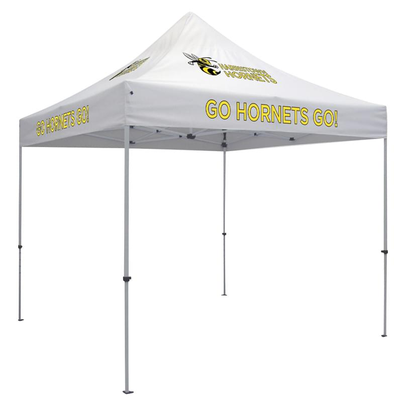 Deluxe 10' Tent Kit (Full-Color Imprint, 4 Locations)
