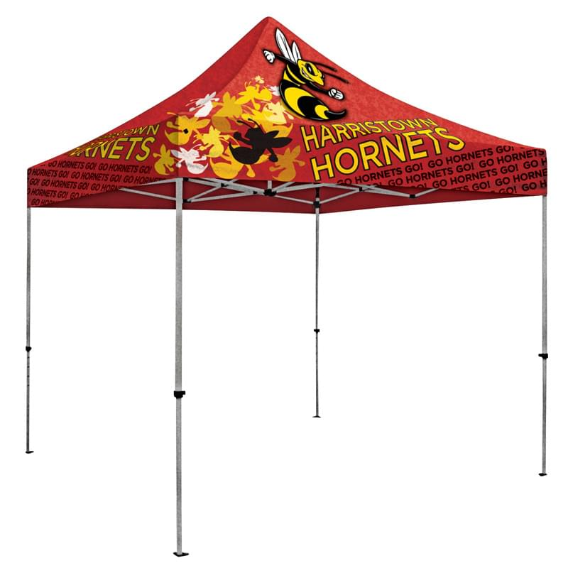 Deluxe 10' Tent Kit (Full-Bleed Dye-Sublimation)