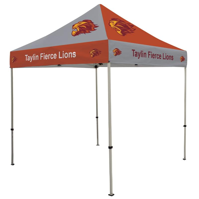 Deluxe 8' Tent Kit (Full-Bleed Dye Sublimation)