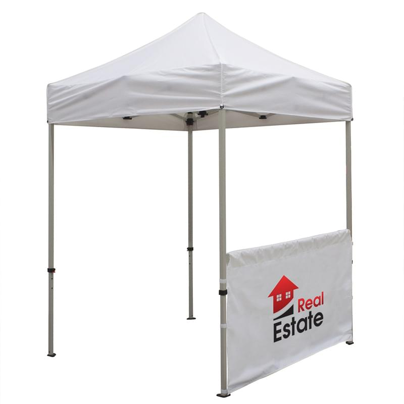 6' Half Wall for Event Tents (Full-Color Imprint)