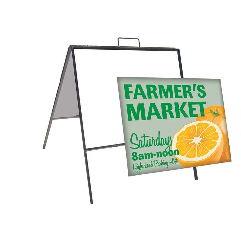 "24"" x 18"" Superstrong Angle Signboard (Single-Sided)"