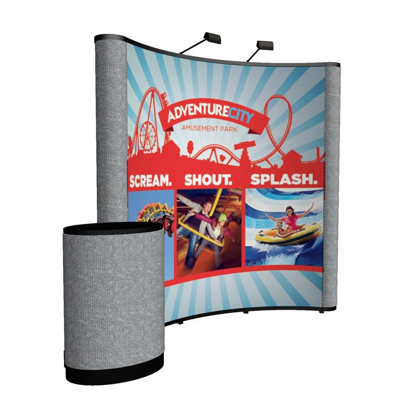 8' Show 'N Rise Curved Floor Kit (Mural with Fabric)