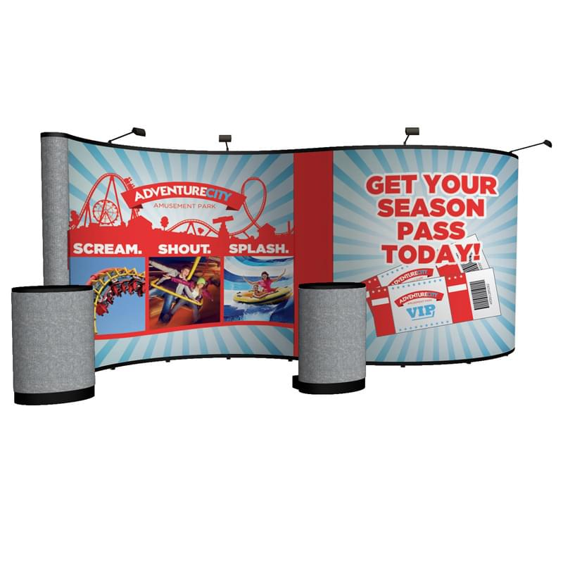 20' Show 'N Rise Serpentine Floor Kit (Mural with Fabric)