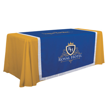 "57"" Accent Table Runner (Two Location Full-Color Thermal Imprint"