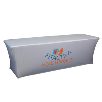 8' UltraFit Curve Throw (Dye Sublimation, Front Only)