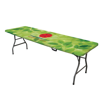 8' Ultrafit Table Topper Full Color Full Bleed