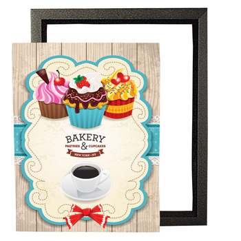 "8.5"" x 11"" Top-Load Frame Graphic Insert"