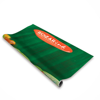 "24"" Economy Retractor Banner (No-Curl Hybrid Film)"