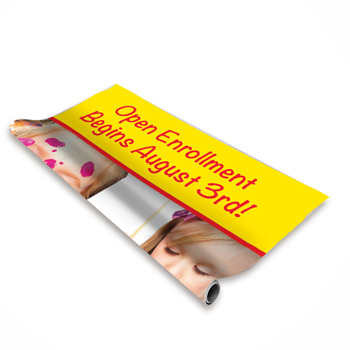 "33.5"" Economy Plus Retractor Banner (No-Curl Hybrid Film)"