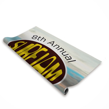 Jumbo Tall Retractor Banner (No-Curl Hybrid Film)