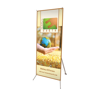 "24"" x 60"" Tripod Banner Display Kit"
