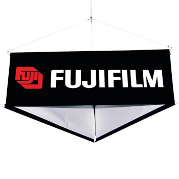 8' Three-Sided Hanging Banner Kit