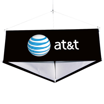 12' Three-Sided Hanging Banner Kit