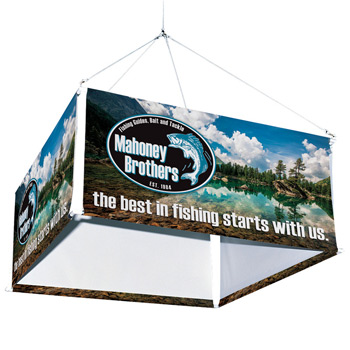 8' 4-Sided Hanging Banner Kit