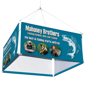 10' 4-Sided Hanging Banner Kit