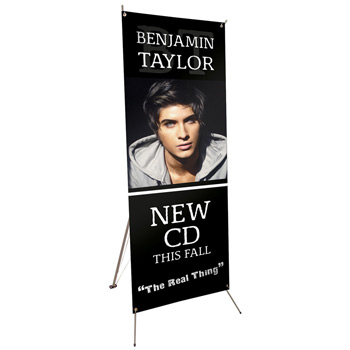 "24"" x 48"" Tripod Banner Display Kit"