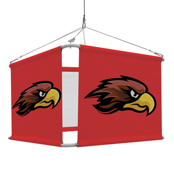 4' 4-Sided Hanging Banner Graphic Kit (Set of Four)