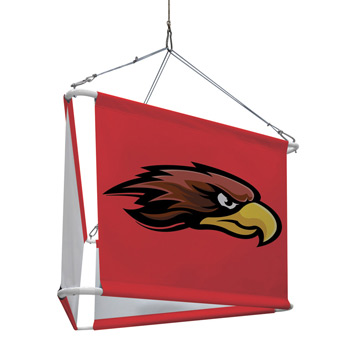 4' 3-Sided Hanging Banner Graphic Kit (Set of Three)