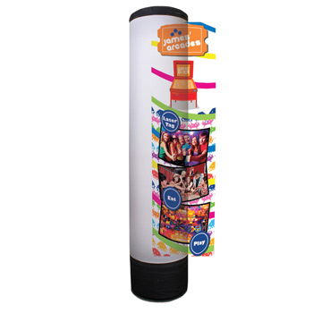 LuminAir Inflatable Display Replacement Graphic