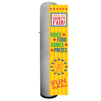 12' Cyclone Inflatable Tower Replacement Graphic