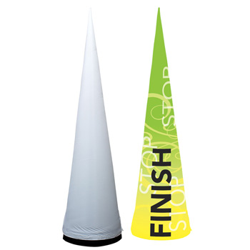 10' Cyclone Inflatable Cone Replacement Graphic
