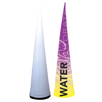 12' Cyclone Inflatable Cone Replacement Graphic