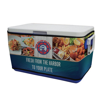 48-Quart Cooler with Rappz Cover
