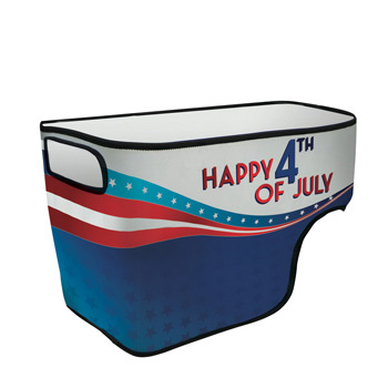 40 quart wheeled Cooler Rappz Replacement Graphic