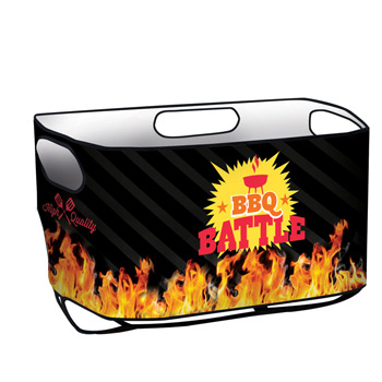 50 Quart Wheeled Cooler Rappz Replacement Graphic