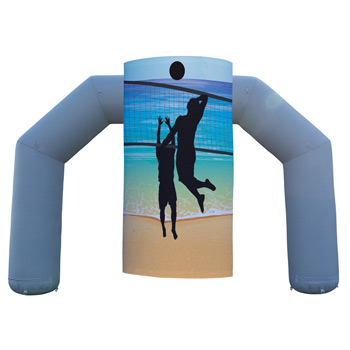 Jumbo Arch Inflatable Side Wrap