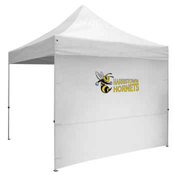 10' Full Wall for Event Tents (Full-Color Imprint)