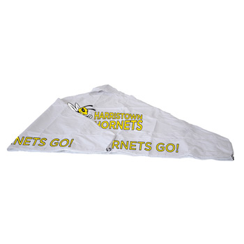 10' Tent Vented Canopy (Full-Color Imprint, 3 Locations)