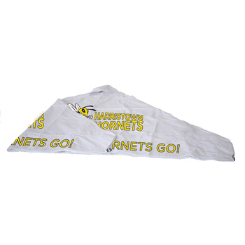 10' Tent Vented Canopy (Full-Color Imprint, 8 Locations)