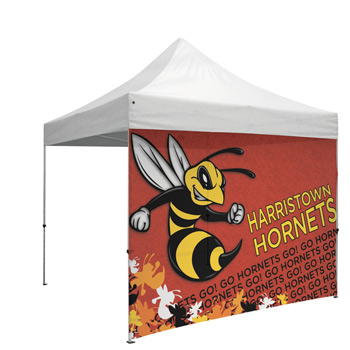 10' Mesh Full Wall for Event Tents (UV Printed)