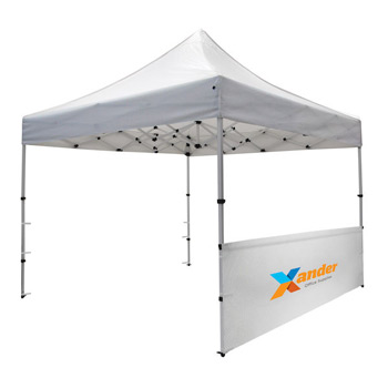 Compact 10' Tent Half Wall Kit (Full-Color Imprint)