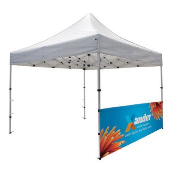 Compact 10' Tent Half Wall Kit (Dye-Sublimated, 1-Sided)