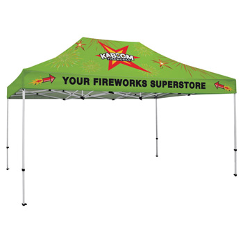 Premium Aluminum 15' Tent Kit (Full-Bleed Dye Sublimation)