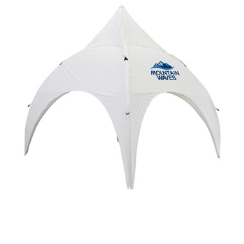 Archway 10 Foot Event Tent Canopy Only (Full-Color Thermal Imprint, 1 Location)