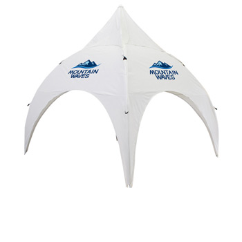 Archway 10 Foot Event Tent Canopy Only (Full-Color Thermal Imprint, 4 Locations)