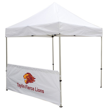 8' Half Wall for Event Tents (Full-Color Imprint)