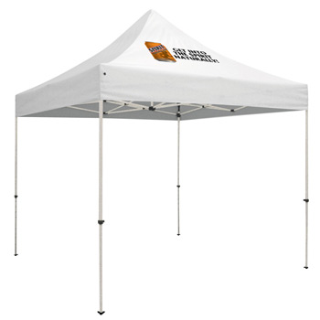 Premium Steel 10' Tent Kit (Imprinted, 1 Location)