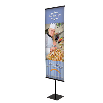 "Everyday 24"" Snap Rail Banner Display Kit"