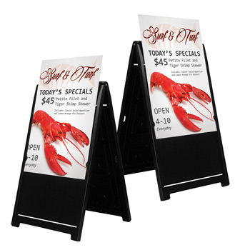 Signicade Deluxe A-Frame Double Sided Replacement Graphic