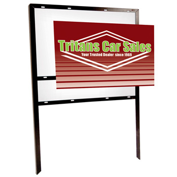 "24"" x 36"" Superstrong Angle Signboard (Double-Sided)"