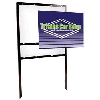 "24"" x 18"" Angle Signboard (Double-Sided)"
