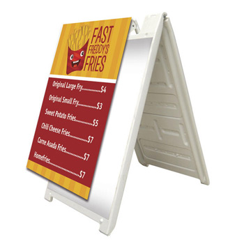 Signicade A-Frame Signboard (Single-Sided)