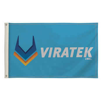 Single-Sided Polyester Flag - 3' x 5'